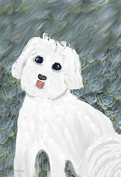 Chubby Puppy by Rosalie Scanlon