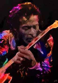 Chuck Berry by Sergey Lukashin