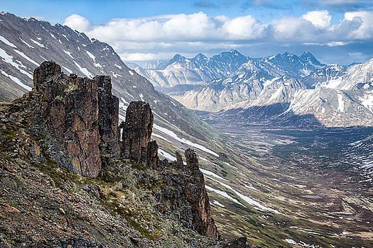 Chugach Backcountry in Spring by Tim Newton