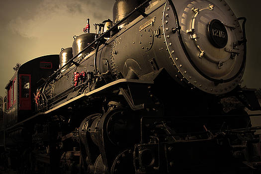 Wingsdomain Art and Photography - Chugging Across America in The Age of Steam . Golden Cut . 7D12980