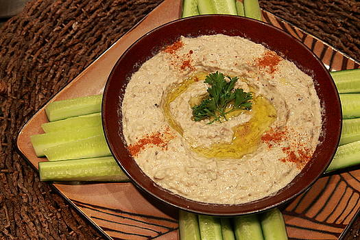 Chunky Mutabbal for Dinner by Murtaza Humayun Saeed