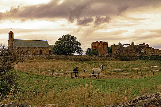 Church and Priory by Tony Murtagh