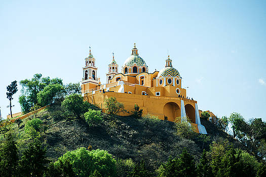 Tatiana Travelways - Church and The Great Pyramid of Cholula, Mexico