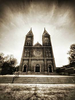 church at Benedictine college by Dustin Soph