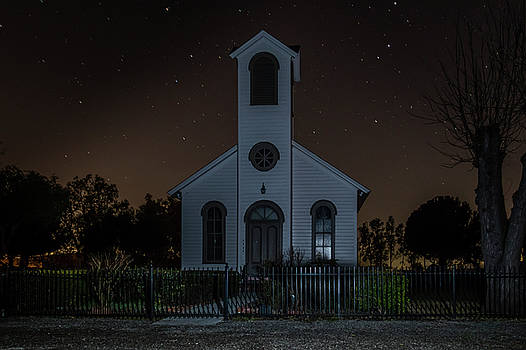 Bruce Bottomley - Church at Night