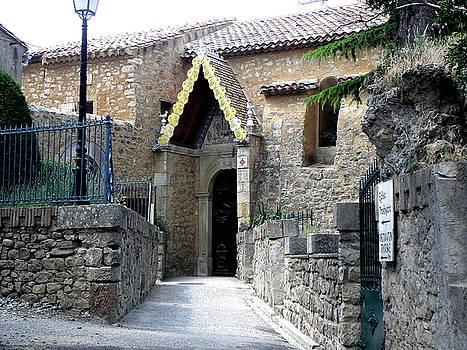 Church Berenger Sauniere a Rennes-Les-Chateau by Cass Oest