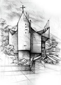 Church by Dariusz Kronowski
