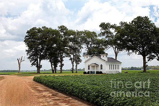 Church from The Help Movie in Mississippi by T Lowry Wilson