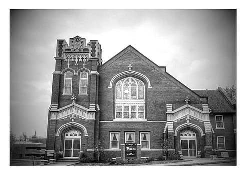 Church In Black And White by Dustin Soph