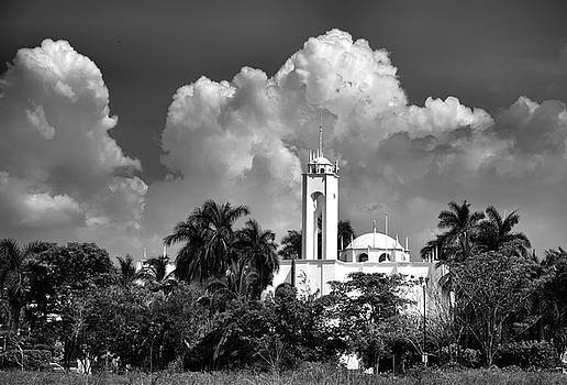 Church in Black and White by Jim Walls PhotoArtist