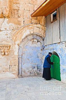 Church in Jerusalem by Christy Woodrow