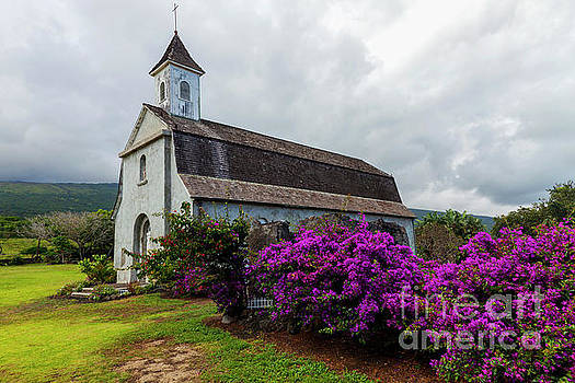 Church in Paradise by Mike Dawson