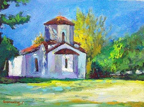 Church in parnitha by George Siaba