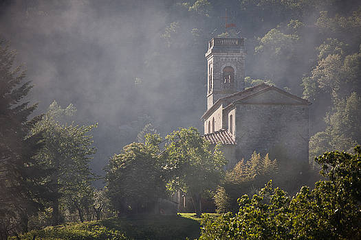 Church in Partigliano by Steven Gray