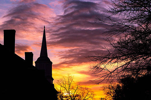 Lisa Lemmons-Powers - Church in Silhouette