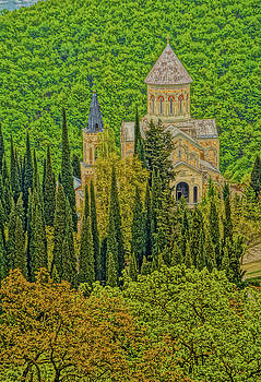 Dennis Cox - Church in the Forest