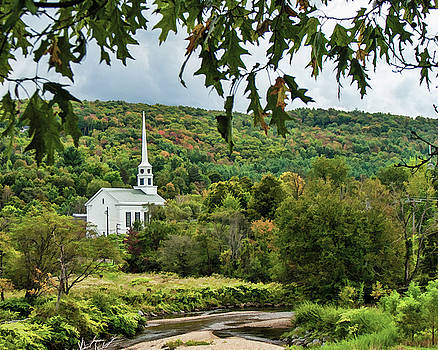 Church in the Valley by Lee Fortier