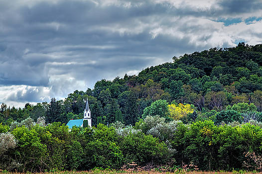 Church in the Wildwood by Gary Holmes