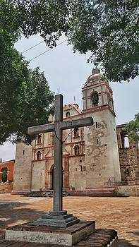 Church in Tlacolula Valley, Mexico by Steffani Cameron