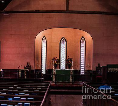 Church Interior by Thomas Marchessault