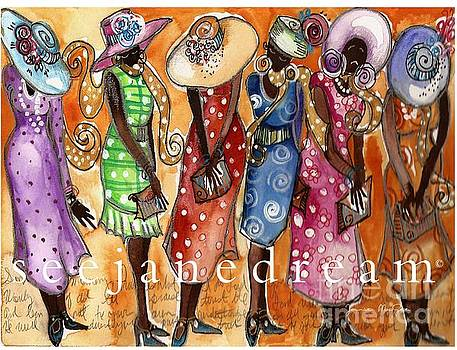 Church Lady Hats by Janie McGee