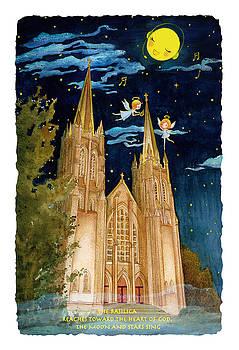 Church Night by Eva Yue Wang