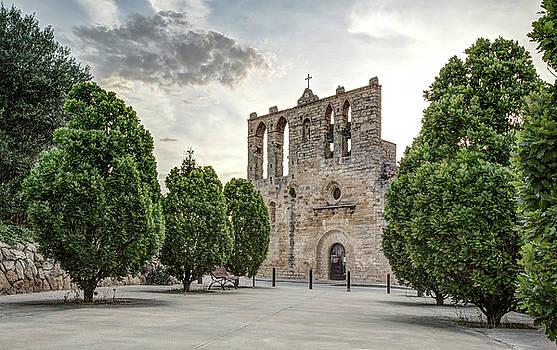 Church of Sant Esteve in Peratallada Catalonia by Marc Garrido