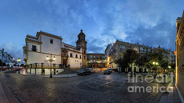 Church of Santo Domingo Panorama Cadiz Spain by Pablo Avanzini