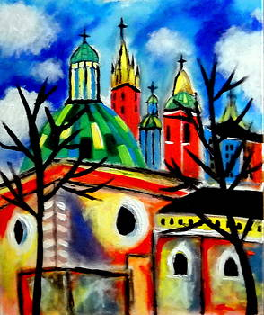 Church of St. Adalbert by Ted Hebbler