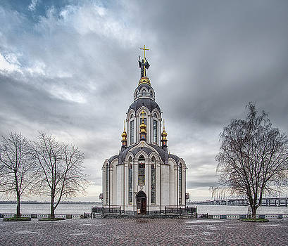 Church of St. John The Baptist, st. 2. Dnipro, 2017. by Andriy Maykovskyi