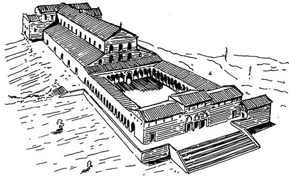 Church of Sts. Peter's in Rome - reconstruction by Dariusz Kronowski