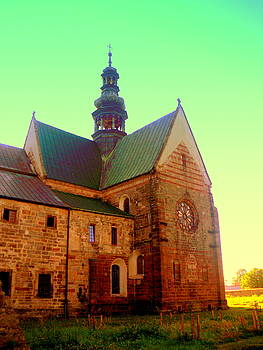 Church of the Blessed Virgin Mary and St. Florian in the Wachock by Henryk Gorecki