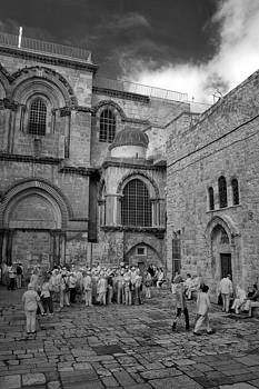 Zoriy Fine - Church of the Holy Sepulchre infrared