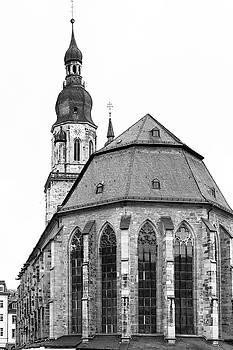 Teresa Mucha - Church of the Holy Spirit B W