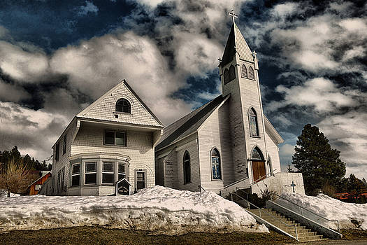 Church of the immaculate conception Roslyn WA by Jeff Swan