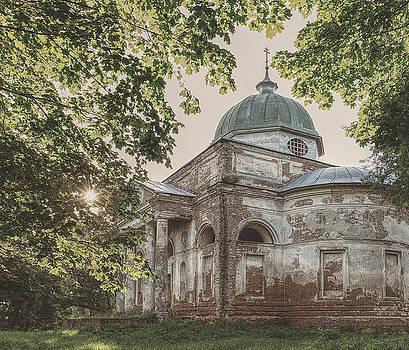 Church of The Trinity. Bihach, 2017. by Andriy Maykovskyi