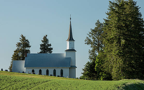 Church on the Hill by Bob Cournoyer