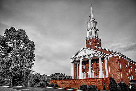 Church Photography - Partial Color by Andrew King