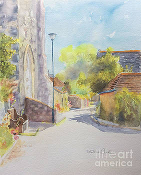 Church Road - Hythe Kent - England by Beatrice Cloake