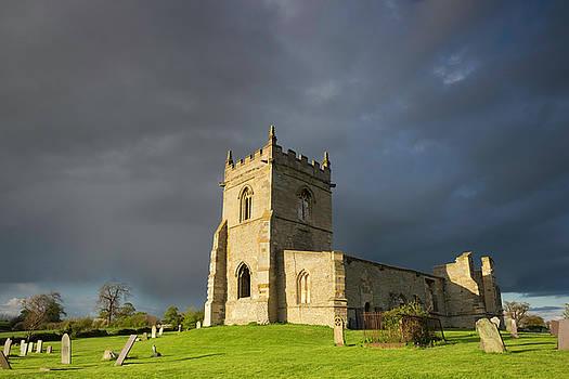 Church Ruins At Cropwell Bishop by Wendy Chapman