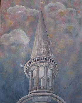 Church Spire by Betsy Cullen