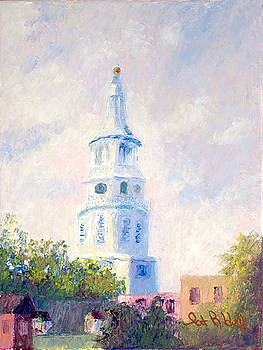Church Spires by Patricia Huff