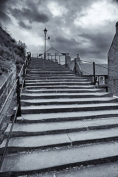 Church Steps Whitby by Archaeo Images