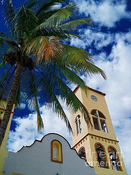Pamela Smale Williams - CHURCH TOWER IN PUERTA VALLARTA