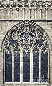 Sophie McAulay - Church window Canterbury