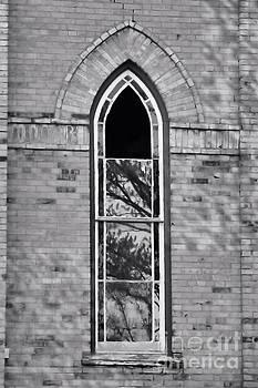 Church Window by Kristi Beers-Mason