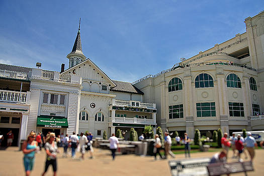 Jill Lang - Churchill Downs in Kentucky