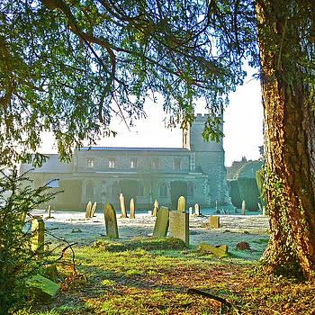 Churchyard Glimpse by Anne Kotan
