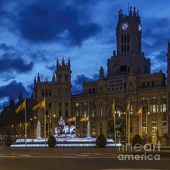 Cibeles Fountain Madrid Spain by Pablo Avanzini