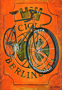 Cicli Berlinetta by Mark Howard Jones